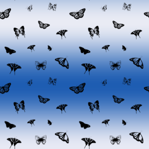 repeating_butterfly_pattern_bw
