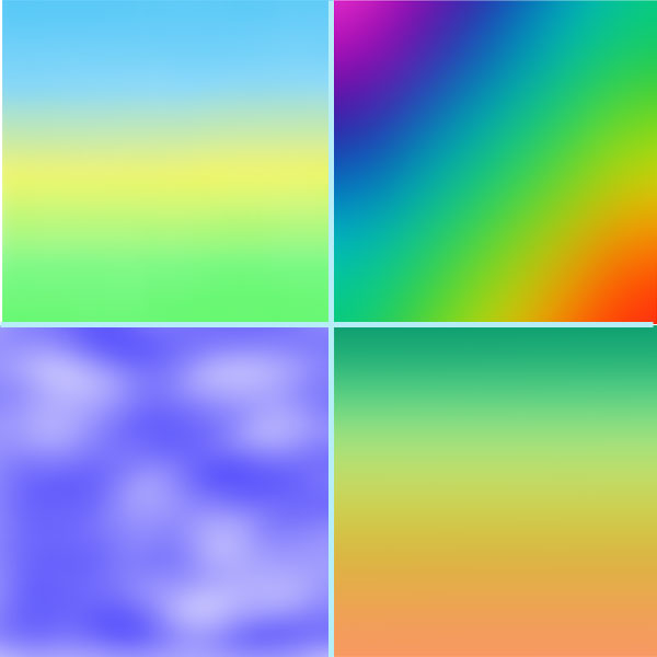 Multiple Color Backgrounds