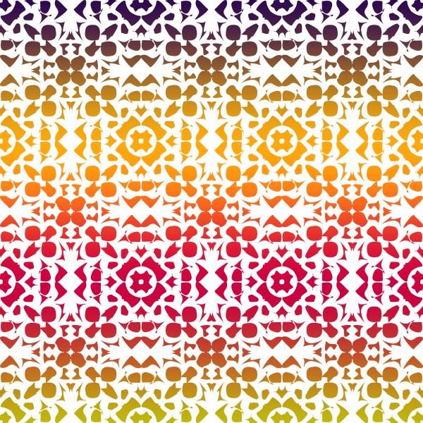 Batik Rainbow White 200