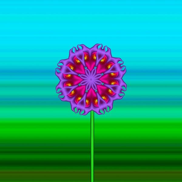 Fractal Flower 02