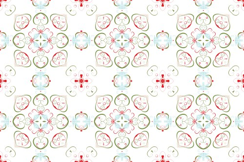 Christmas Swirl Pattern 02