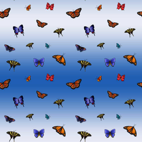 Tileable Butterfly Patterns