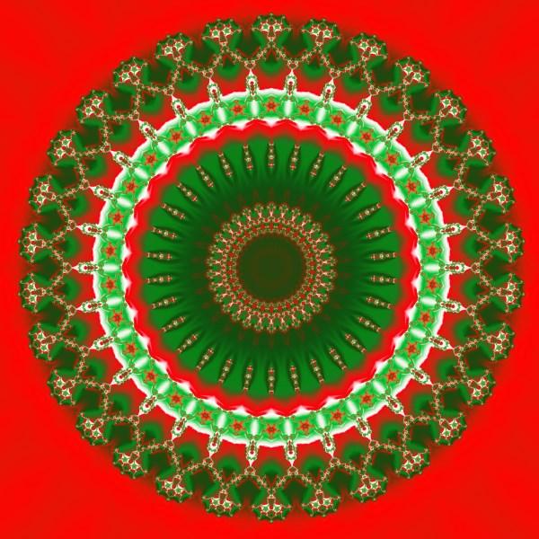 Christmas Mandala 004